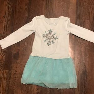 Gymboree snowflake dress